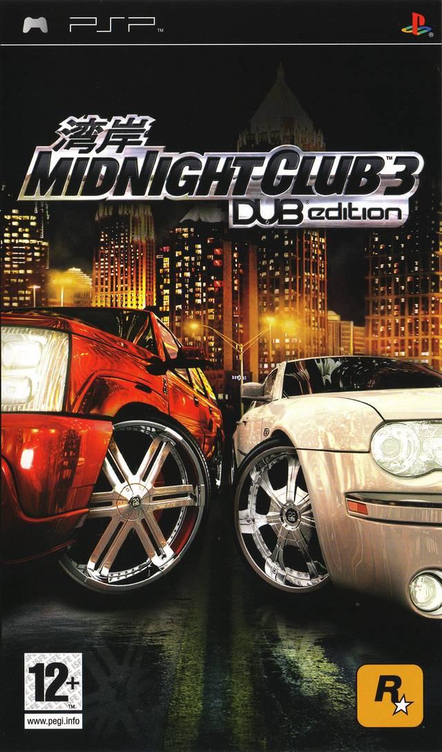 Rom juego Midnight Club 3 - DUB Edition
