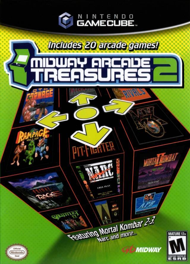 Rom juego Midway Arcade Treasures 2