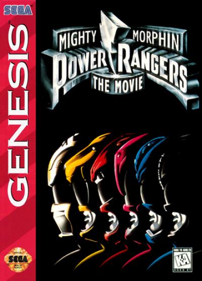 Rom juego Mighty Morphin Power Rangers - The Movie (4)