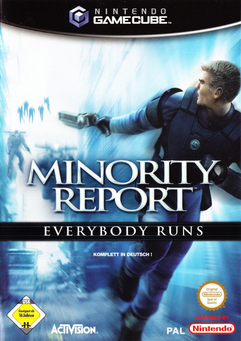 Rom juego Minority Report Everybody Runs