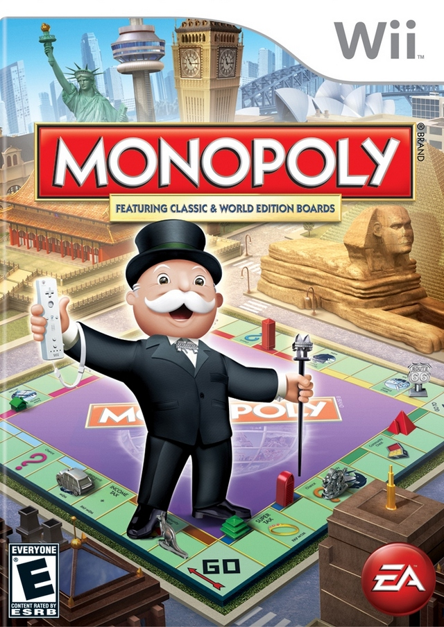 Rom juego Monopoly