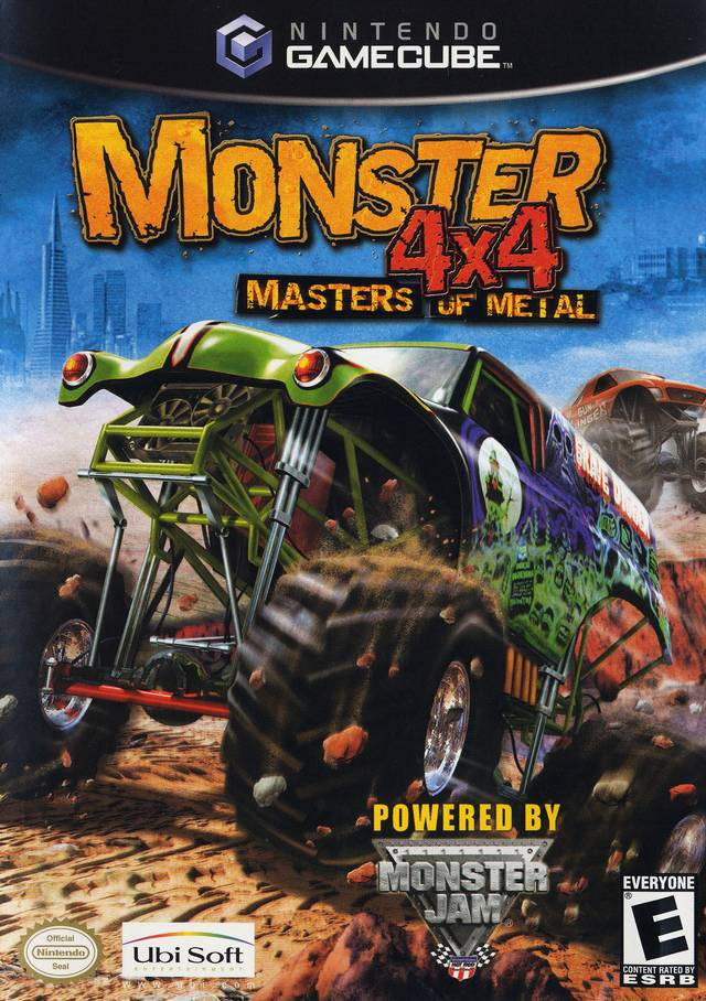 Rom juego Monster 4x4 Masters Of Metal