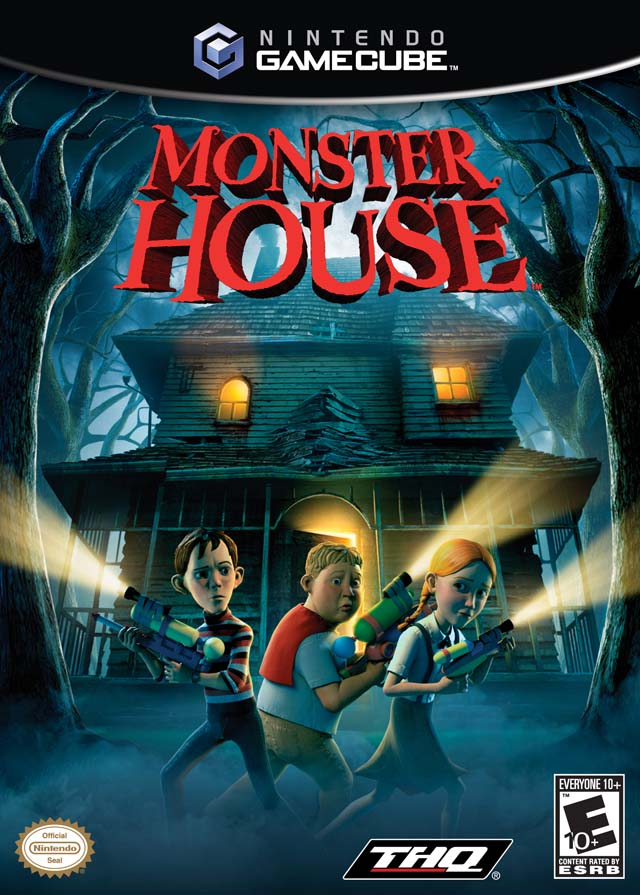 Rom juego Monster House
