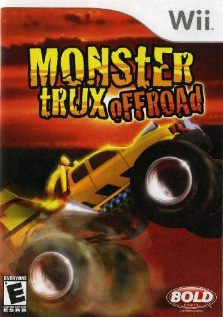 Rom juego Monster Trux- Offroad