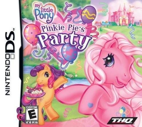 Rom juego My Little Pony - Pinkie Pie's Party