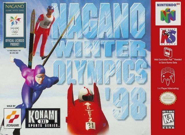 Rom juego Nagano Winter Olympics '98