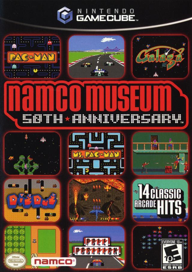 Rom juego Namco Museum 50th Anniversary