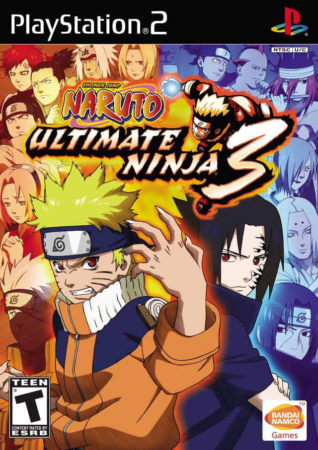 Rom juego Naruto - Ultimate Ninja 3