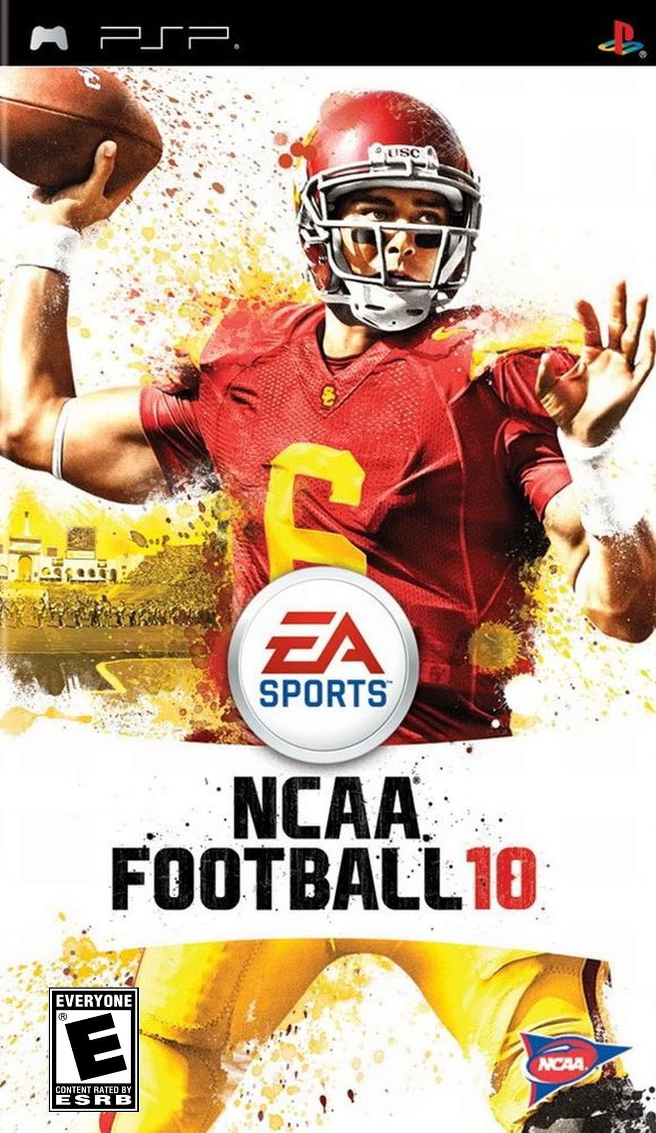 Rom juego NCAA Football 10