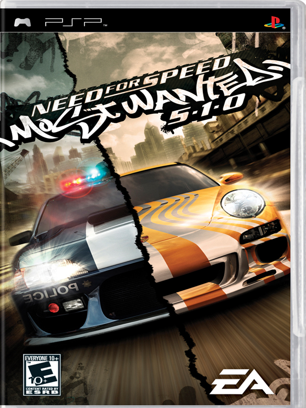 Rom juego Need For Speed - Most Wanted 5-1-0