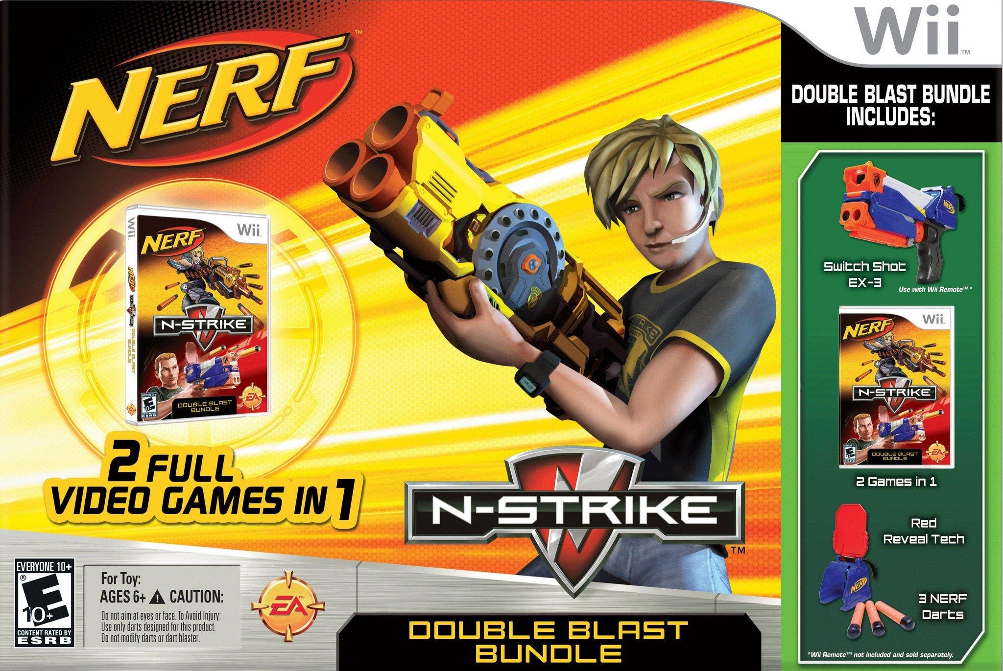Rom juego NERF Double Blast