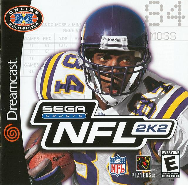 Rom juego NFL 2K2