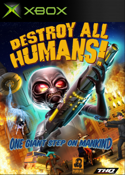 Rom juego Destroy All Humans