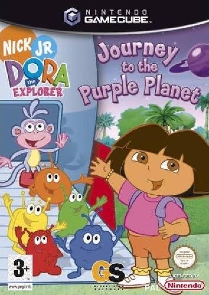 Rom juego Nick Jr. Dora The Explorer Journey To The Purple Planet