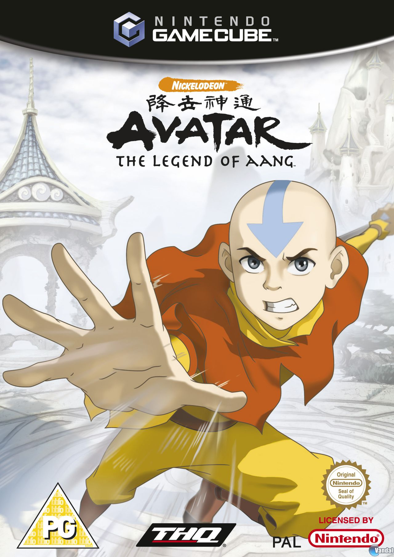 Rom juego Nickelodeon Avatar The Legend Of Aang