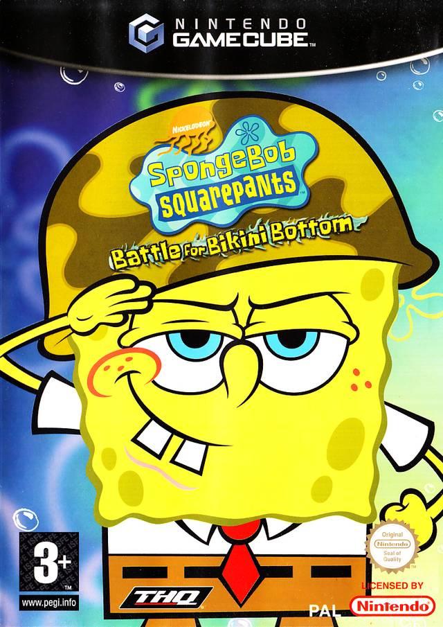 Rom juego Nickelodeon SpongeBob SquarePants In Battle For Bikini Bottom