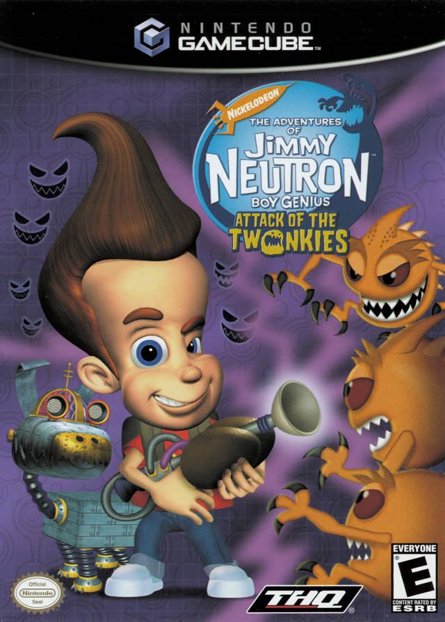 Rom juego Nickelodeon The Adventures Of Jimmy Neutron Boy Genius Jet Fusion