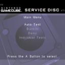 Nintendo GameCube Service Disc Version 1.0 03