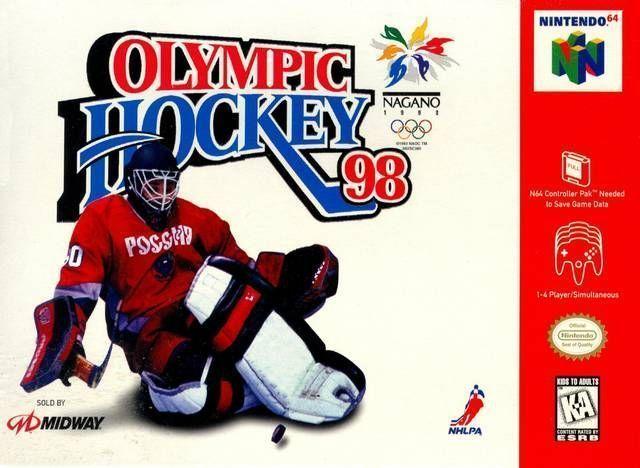 Rom juego Olympic Hockey Nagano '98