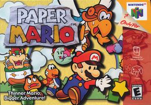 Rom juego Paper Mario