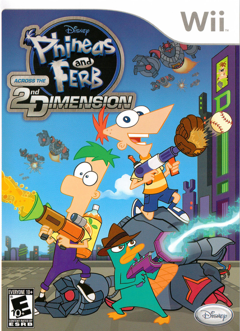 Rom juego Phineas And Ferb Across The 2nd Dimension