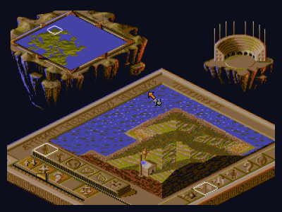 Rom juego Populous 2 - Wrath Of The Gods
