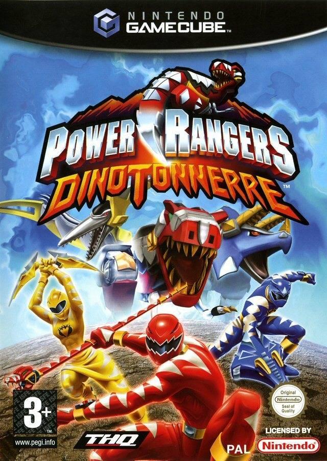 Rom juego Power Rangers Dino Thunder