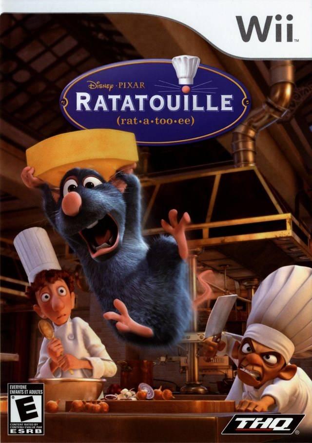 Rom juego Ratatouille