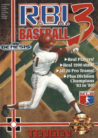Rom juego RBI Baseball 3 (UJE) [b1]