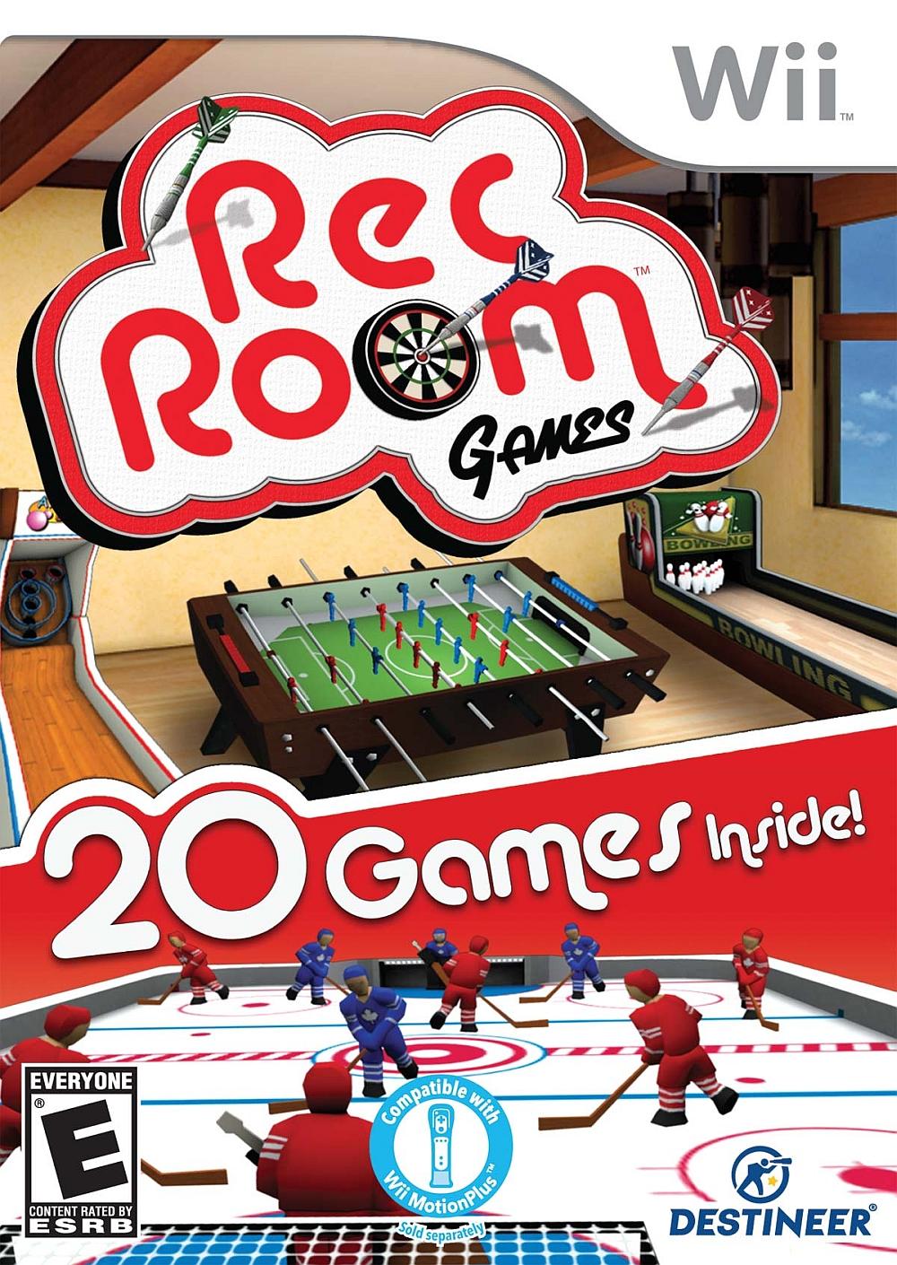 Rom juego Rec Room Games
