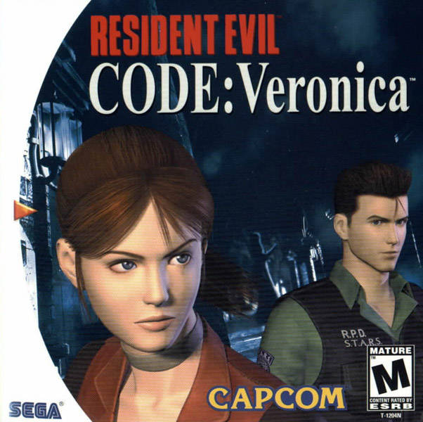 Rom juego Resident Evil Code Veronica  - Disc #1