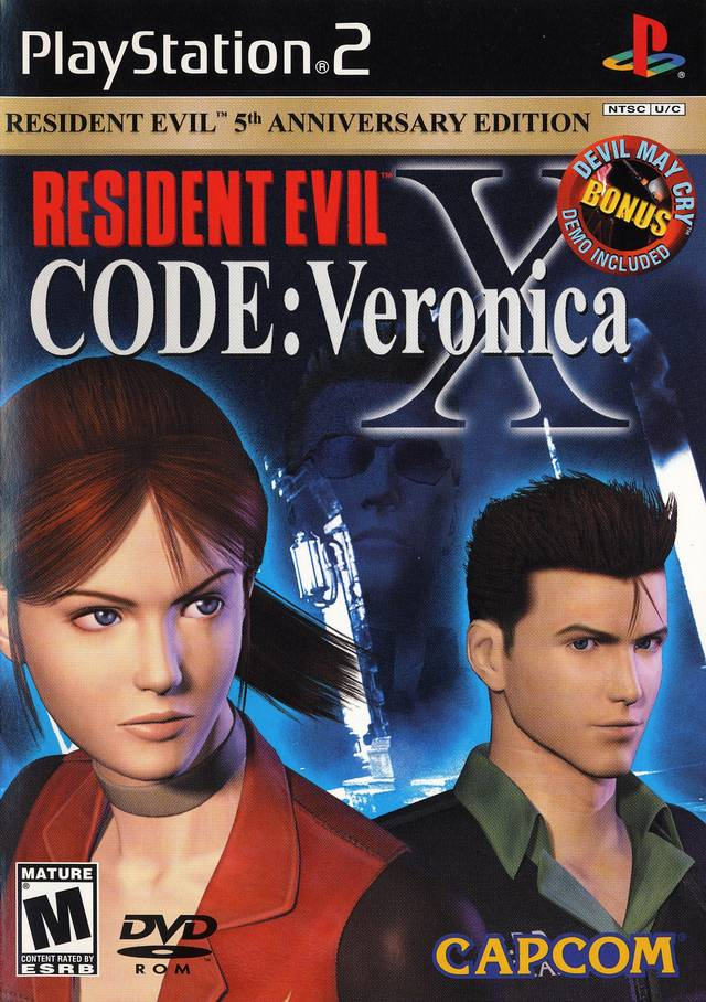 Rom juego Resident Evil - Code - Veronica X