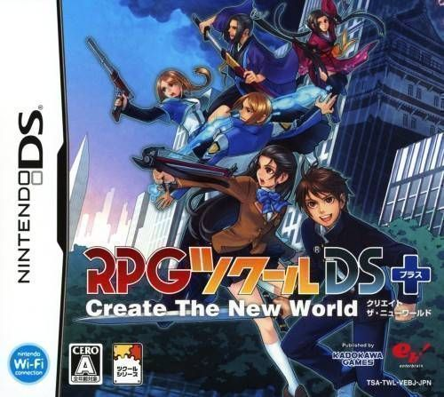 Rom juego RPG Tsukuru DS+ - Create The New World