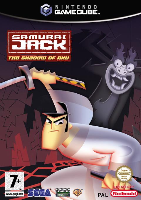 Rom juego Samurai Jack The Shadow Of Aku