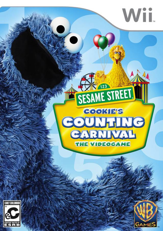 Rom juego Sesame Street- Cookie's Counting Carnival