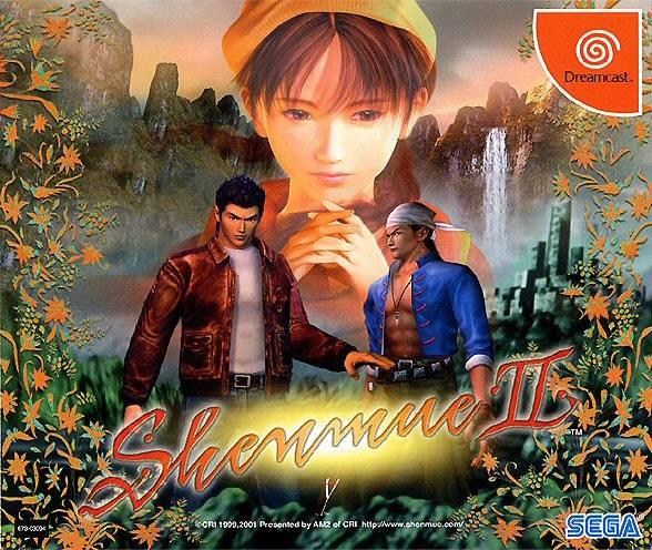 Rom juego Shenmue II  - Disc #1