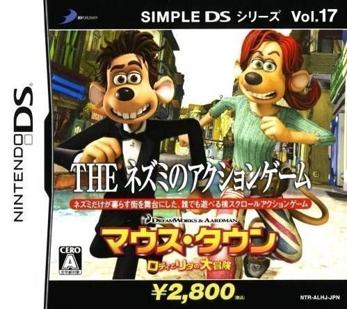 Rom juego The Nezumi No Action Game - Mouse-Town Roddy To Rita No Daibouken