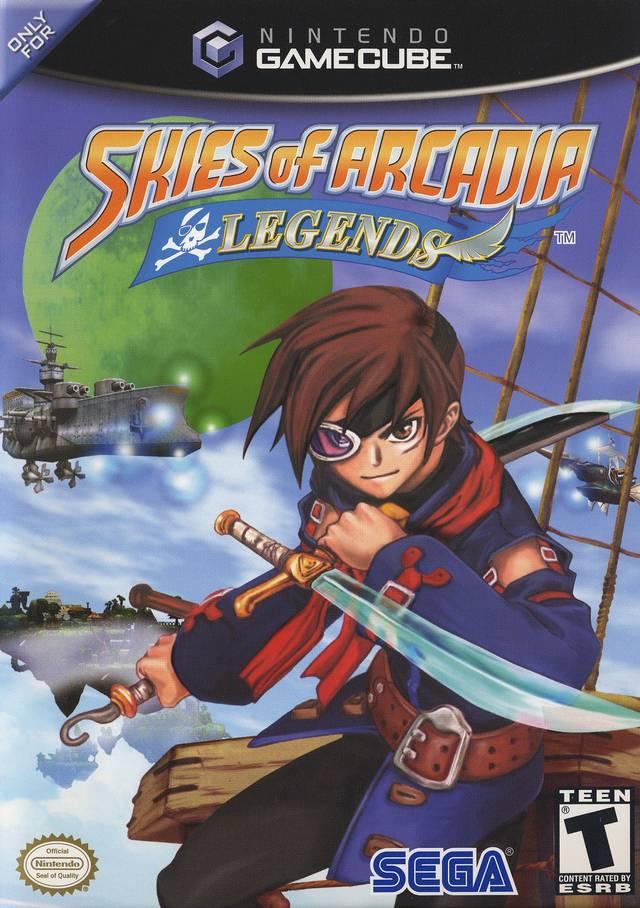 Rom juego Skies Of Arcadia Legends