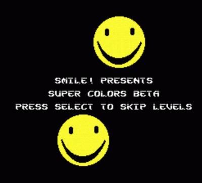 Rom juego Smile! - Super Colors Beta