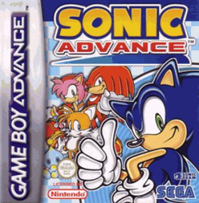 Rom juego Sonic Advance