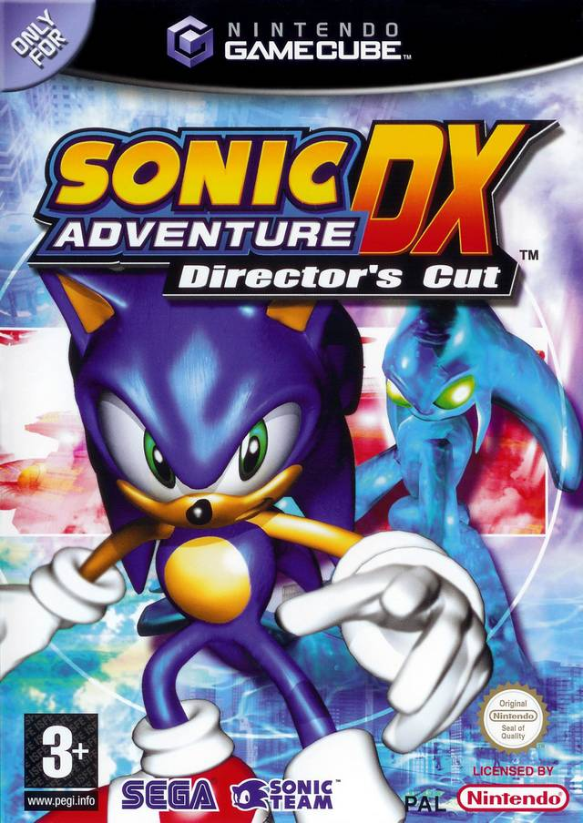 Rom juego Sonic Adventure DX Director's Cut
