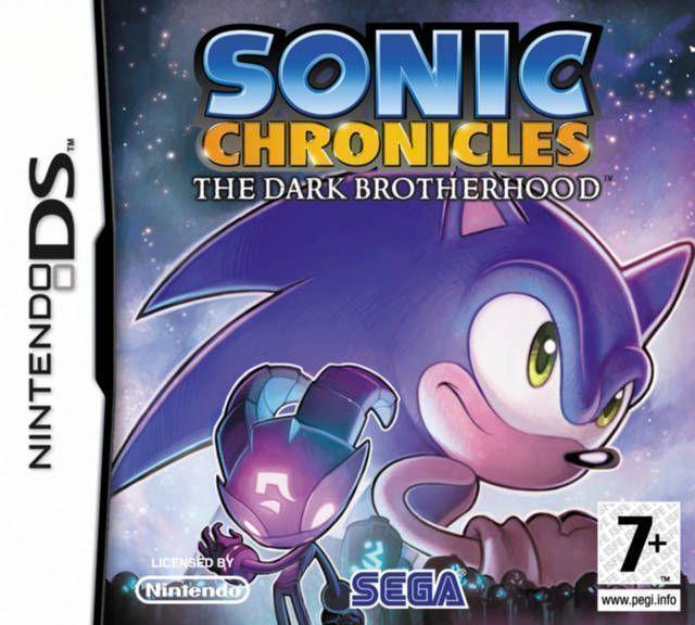 Rom juego Sonic Chronicles - Yami Jigen Kara No Shinryakusha