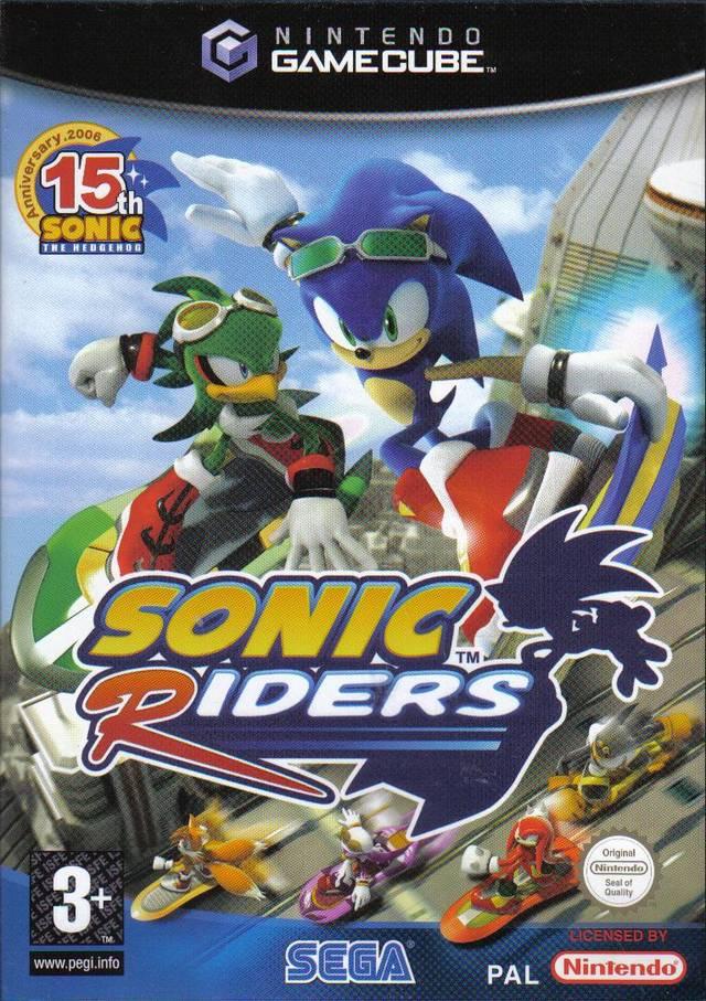 Rom juego Sonic Riders
