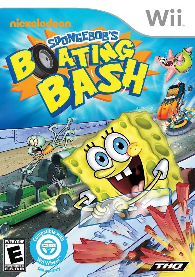 Rom juego SpongeBob's Boating Bash