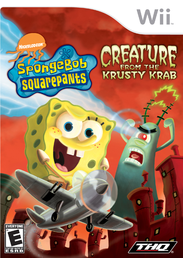 Rom juego SpongeBob SquarePants Creature From The Krusty Krab
