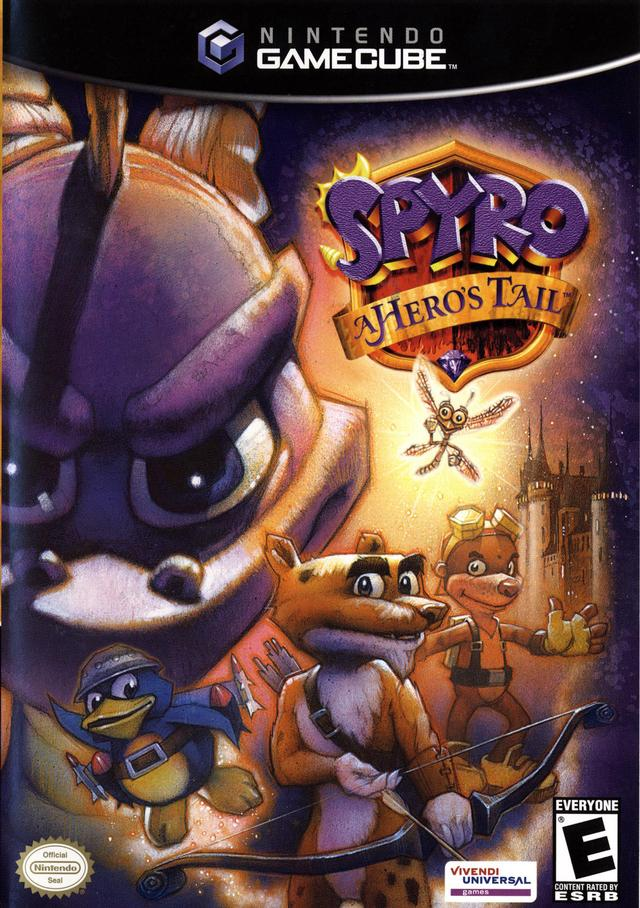 Rom juego Spyro A Hero's Tail