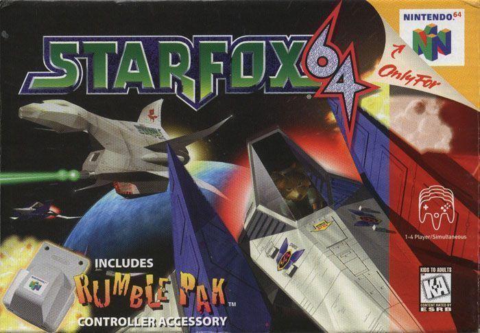 Rom juego Star Fox 64
