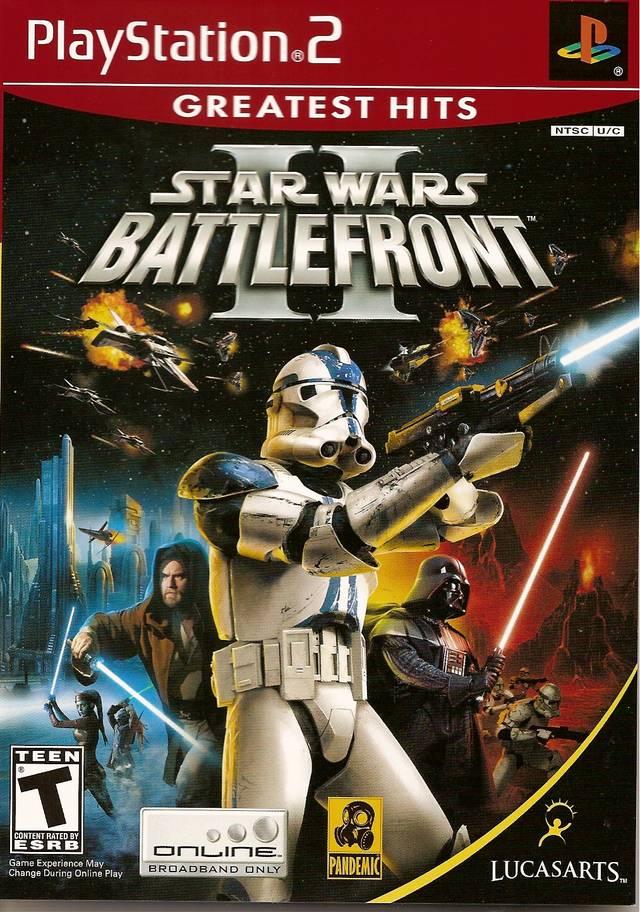 Rom juego Star Wars - Battlefront II