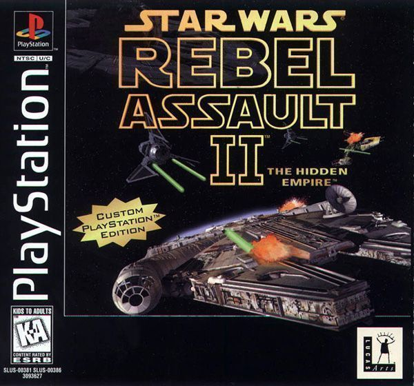 Rom juego Star Wars Rebel Assault II DISC1OF2