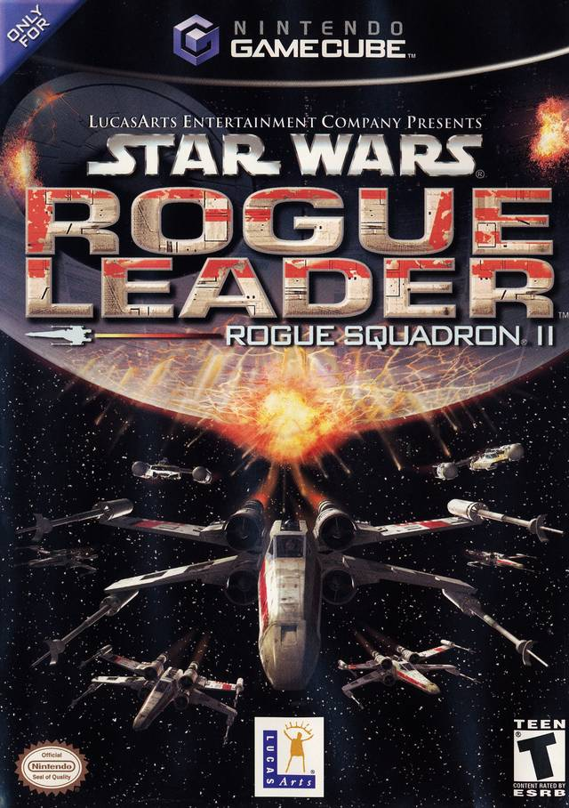 Rom juego Star Wars Rogue Squadron II Rogue Leader